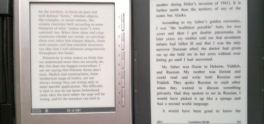 sony vs kindle